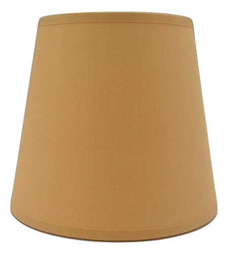 Ocker klein Kerze Clip auf Lampenschirm Deckenleuchte Kronleuchter Wandleuchte Lampe Lampenschirm handgefertigt Baumwolle Stoff