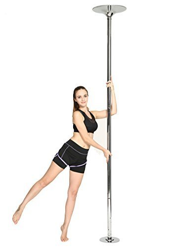 FEMOR Pole Dance tanzstange Tabledance Strip Stang Stabile Edelstahl Poletanz-Stange (45 mm)