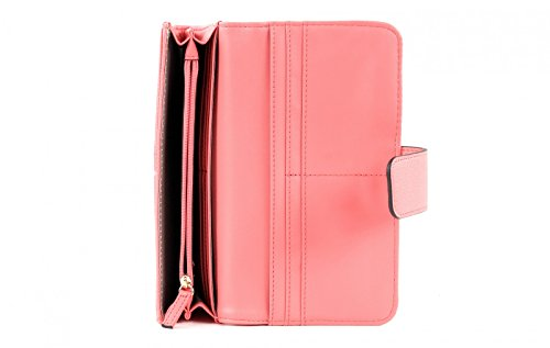 GUESS-Isabeau-File-Clutch-Pink