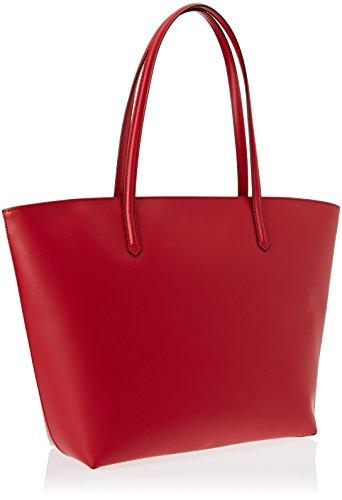Braccialini Vanessa, Borsa a Spalla Donna, 13 x 32 x 48 cm (W x H x L) Rosso
