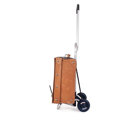 Andersen, Carello richiudibile, carrello portavaligie L, capienza di 30kg, 3 anni di garanzia, Made in Germany