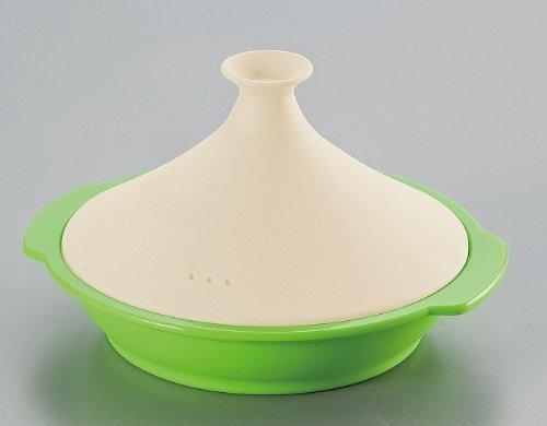 Tan-patrn-de-silicio-tajine-olla-verde-PSC-028-Japn-importacin-El-paquete-y-el-manual-estn-escritos-en-japons