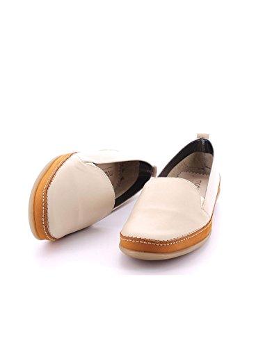 Moda Bella Chaussure Cuir Beige Beige