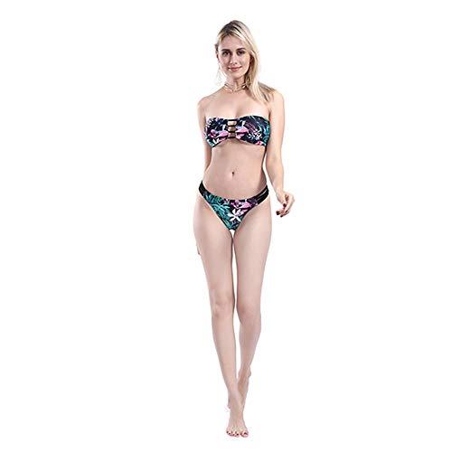 LNONR Costume da Bagno Bikini Spiaggia Costume da Bagno Estate Spiaggia Europea e Americana Sexy Intrecciato