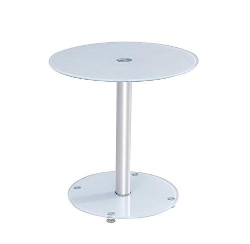 Premier AV lt07 Côté Rond et Table Basse – Blanc