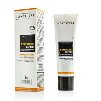Expert Radiance Programme by Laboratoires Novexpert Paris Novexpert The Expert Exfoliator Mask and Scrub for All Skin Types (Step One) 50ml