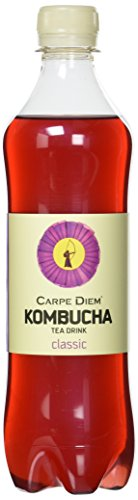 Carpe Diem Kombucha Classic, 12er Pack, EINWEG (12 x 500 ml)