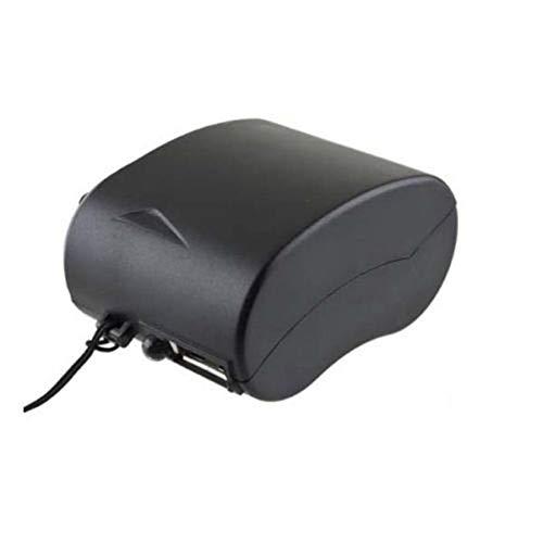 VCB Mini-Handkurbel-USB-Radio-Taschenlampe-Telefon-Ladegerät-Stromgenerator-Ladegerät - Schwarz