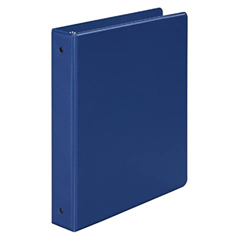 Basic Vinyl Round Ring Binder, 1-1/2