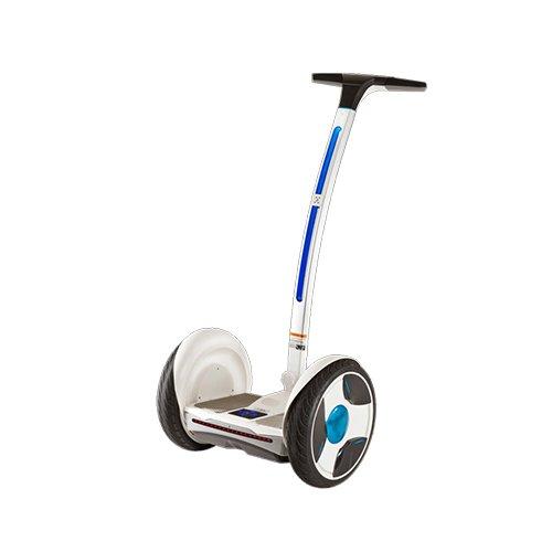 Ninebot-E-Robot-de-transporte-personal-con-manillar-color-blanco-azul-tamao-grande