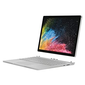 """Microsoft Surface Book 2, 13,5"""" Argent (Core i5, 8Go de RAM, 256Go, Windows 10 Pro) - Calvier AZERTY Français"""
