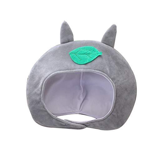 Fenical Plüsch Mütze Niedliche Katzen Blätter Kappe Party Kostüm Kopfbedeckungen Cosplay - Totoro Kostüm Niedlich