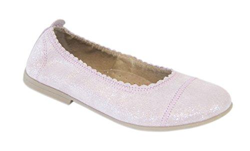 MOVE Soft Ballerina, Ballerines fermées fille Rose - Pink (Light Rose glitter925)