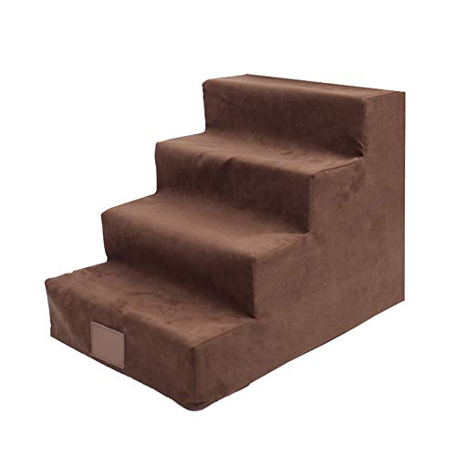 CAIJUN Escalera de Mascotas Casa Alfombra para Mascotas Esponja de Soporte Lavable...