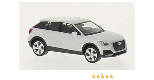 Audi Q2 Weiss 0 Modellauto Fertigmodell Herpa 1 87 Spielzeug