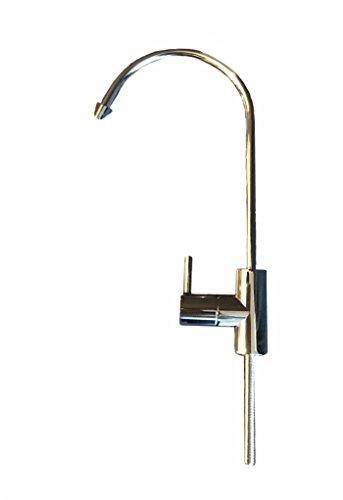 Puroflo PROFLO, fa-878-cp Wasser Wasserhahn, Küchenarmatur, Trinkwasser Wasserhahn, Wasserfilter Wasserhahn, Umkehrosmose (RO) Wasserhahn, 1/4Tube, Nicht Air Gap, 100% bleifrei, Edelstahl -