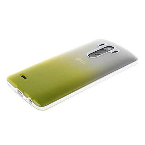 MOONCASE TPU Silicone Housse Coque Etui Gel Case Cover Pour Apple iPhone 6 ( 4.7 inch ) Claire Vert A14506