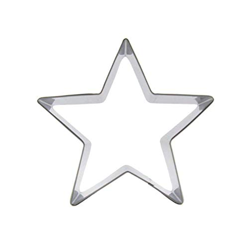 Big Five-Pointed Star Figure Shape Cake Cookie Keks Backformen Mousse Cake Decorating Fondant Tools Cookie (Peace-zeichen-cookie)