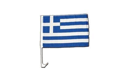 Flaggenfritze Autofahne Autoflagge Griechenland - 30 x 40 cm