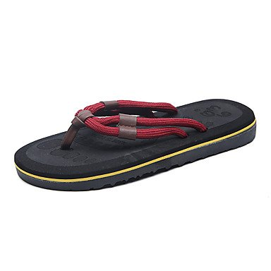 Slippers & amp da uomo; Sandali estate luce Soles Fleece Casual Khaki Rosso Nero sandali US8 / EU40 / UK7 / CN41