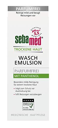 Sebamed Trockene Haut Waschemulsion parfumfrei, 2er Pack(2 x 200 ml)