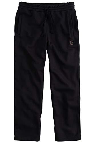 JP 1880 Herren große Größen bis 8XL, Jogginghose, Hose mit elastischem Bund und Saum, 2 Eingrifftaschen, gerade geschnitten schwarz 8XL 702635 10-8XL
