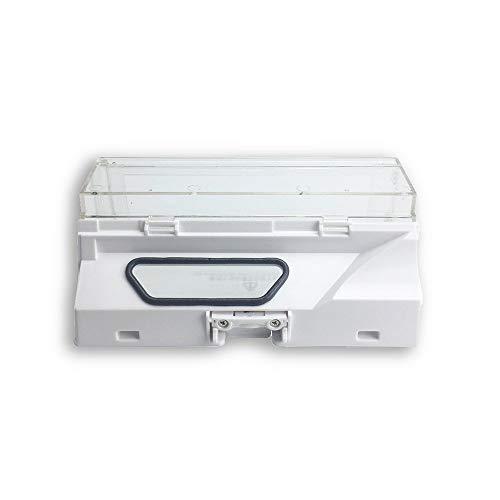 Price comparison product image Yaoaomon Dust Box Bin For Xiaomi Mi Roborock Vacuum Cleaner With Fiter Spare Parts white M090 Stone Dust Box LCJ00506
