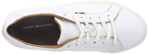 Tommy Hilfiger T1285ina 10a, Scarpe da Ginnastica Donna Bianco (WHITE 100)