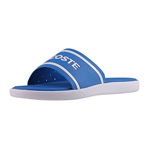 Lacoste L.30 Slide 118 1 CAW, Sandali Donna, (Blue/White), 35.5