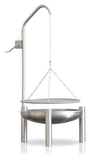 Edelstahl Grill, Ø 60 cm, RICON, deutsche Herstellung
