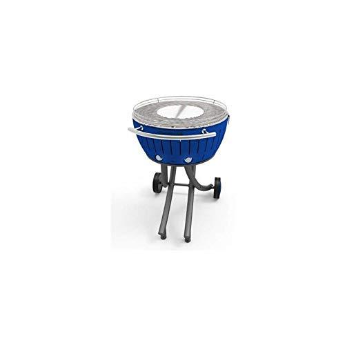LotusGrill XXL Barbecue a carbonella, Profondo Blu, 78x 78x 48cm