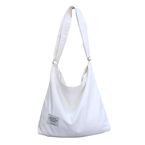 Mini Balabala Bolsos Mujer,Fanspack Bolso Bandolera Mujer de Lona Hobo Bag Bolsos de Crossbody Bolso...