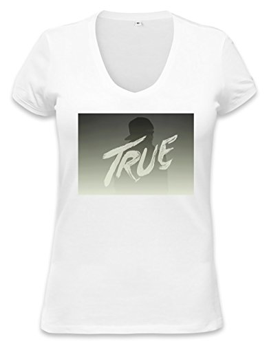 Famous DJ And Producer True Womens V-neck T-shirt XX-Large c4a7b56cc574