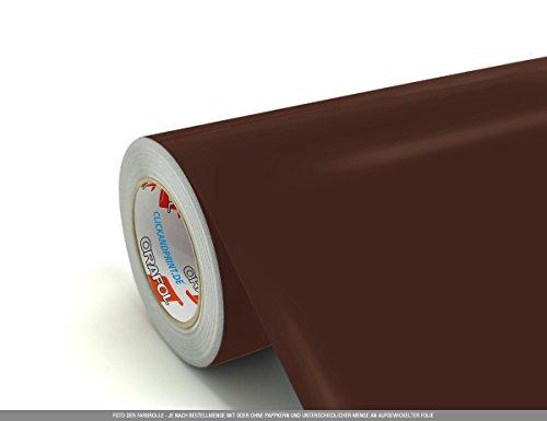 CLICKANDPRINT  3m Klebefolie, 50cm breit, Braun PR » Klebefolie/Stickerfolie/Selbstklebefolie