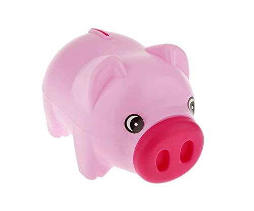 Hucha con forma de cerdo para guardar monedas