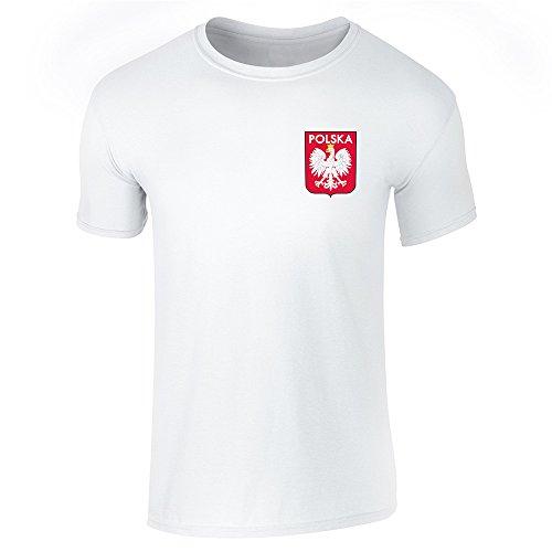 Pop Threads Herren T-Shirt Weiß Weiß