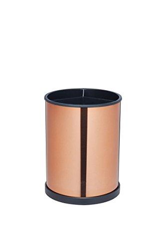 Master Class drehbar Küche Utensilienhalter, 18,5x 14cm–Kupfer Effekt Kupfer-Stil