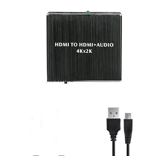 HoganeyVan 4K X 2K Hdmi To Hdmi Extractor Converter Optical Toslink Spdif + 3.5Mm Audio RCA