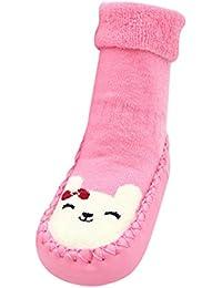 YUnnuopromi Baby M/ädchen Socken rosa Rose 1-3 Jahre 0-24 Monate