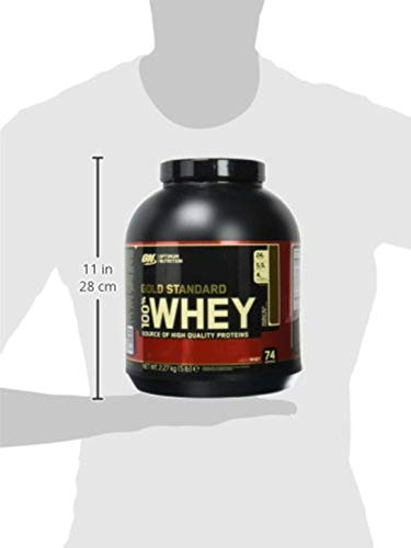 Optimum Nutrition Whey Gold Standard Protein Double Rich Chocolate, 2,27kg - 4