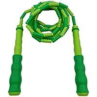 LridSu 1PC Bamboo Skipping Rope Kids Practice Juego de Deportes Cuerdas de Saltar para Ejercicio Cardio (Color : Green, tamaño : Length2.7m)