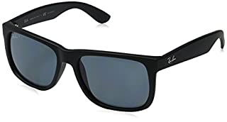 Ray-Ban - Justin Wayfarer Lunettes de Soleil - Noir (Rubber Black) - 54 mm (B015EJWFZE) | Amazon price tracker / tracking, Amazon price history charts, Amazon price watches, Amazon price drop alerts