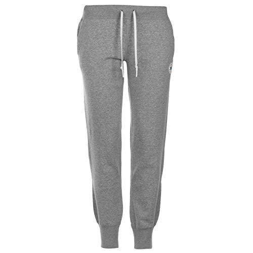Converse Alle Star Basic Jogging Jogginghose Damen Skate Bekleidung Training Hose - grau, UK 8 (Xs) -