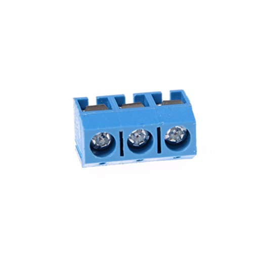 Terminal Block Connector - 5.0mm 10 Pcs Lot Kf301 3p Pitch Straight Pin Pcb 3 Screw Terminal Block Connector - Connector Screw Terminal Block Connector Screw Terminal Electric Incubator Fuse B 250v Fuse Block
