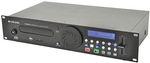 Citronic cdusb-2Kombination CD/USB/SD Player -