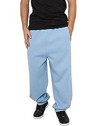 Urban Classics Herren Sporthose Sweatpants-Blau (skyblue) ,XS