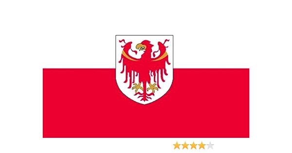 Michael Rene Pflüger Barmstedt 8 4 X 5 4 Cm Autoaufkleber Fahne Südtirol Flaggen Aufkleber Sticker Fürs Auto Motorrad Auto