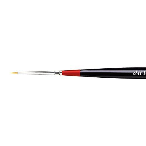da Vinci Watercolor 170-10/0 Micro Nova Aquarellpinsel, Schwarz - Princeton Red Sable Brush