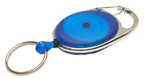 Jojo REKO 220 mit Schlaufenclip und Schlüsselring, Blau