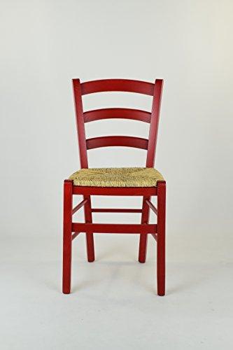 Tommychairs - Set 2 sedie classiche VENEZIA per cucina, bar e sala ...